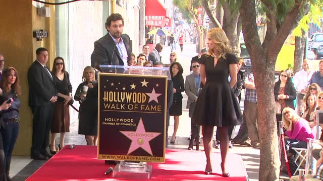 SPEECH Jeremy Sisto at Cheryl Hines Honored With Star On The Hollywood Walk Of Fame on January 29 2014 in Hollywood California