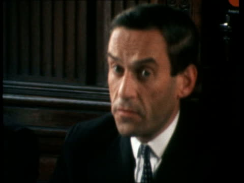 Jeremy Thorpe interview on manifesto ENGLAND London Westminster Jeremy Thorpe MP interview SOF 'Our position on powersharingthat is not my position'