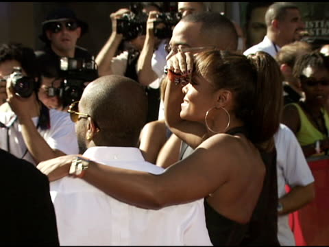 Jermaine Dupri and Janet Jackson at the 2006 ESPY Awards arrivals at the Kodak Theatre in Hollywood California on July 12 2006