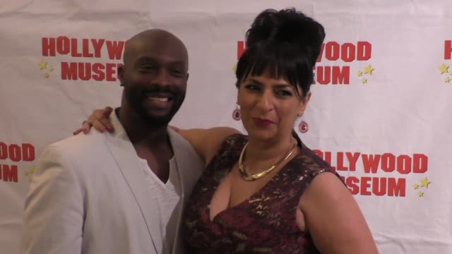 Jerome 'Ro' Brook Alice Amter at The Hollywood Museum And The Hollywood Reporter Present The Awards Exhibit at Celebrity Sightings in Los Angeles on...
