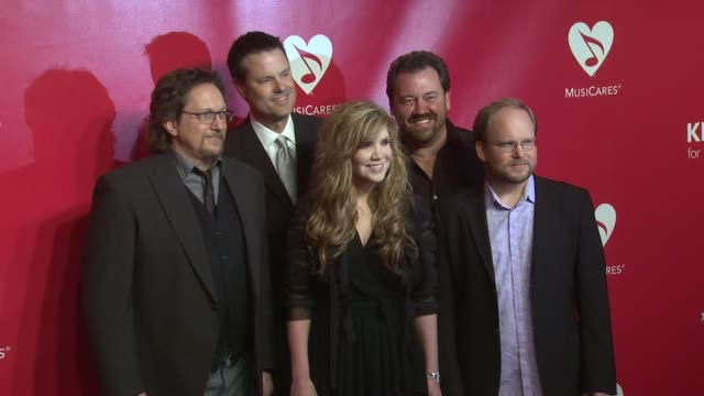 Jerry Douglas Dan Tyminski Alison Krauss Barry Bales and Ron Block of Union Station at 22nd Annual MusiCares Benefit Gala Honoring Sir Paul McCartney...