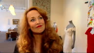 Jerry Hall to auction wedding dress she wore to marry Mick Jagger ENGLAND London Sotheby's Auction House INT Jerry Hall interview SOT On her decision...