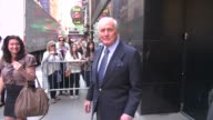 Jerry Weintraub at the 'Good Morning America' studio Jerry Weintraub at the 'Good Morning America' stud on June 07 2012 in New York New York