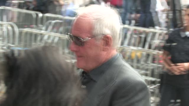 Jerry Weintraub at The Karate Kid Premiere in Westwood at the Celebrity Sightings in Los Angeles at Los Angeles CA