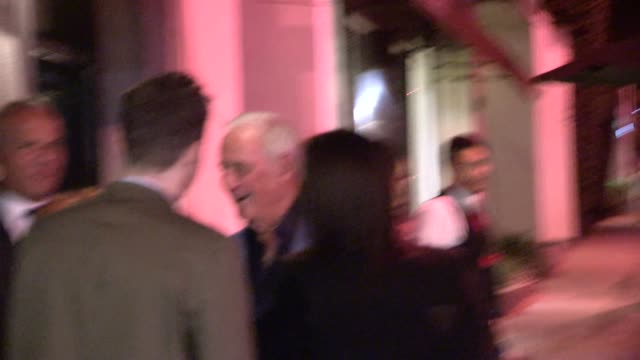 Jerry Weintraub entering Craig Susser's Birthday Party at Craigs in West Hollywood in Celebrity Sightings in Los Angeles