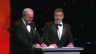 SPEECH Jerry Weintraub Matt Damon at The 2014 UNICEF Ball Presented By Baccarat in Los Angeles CA
