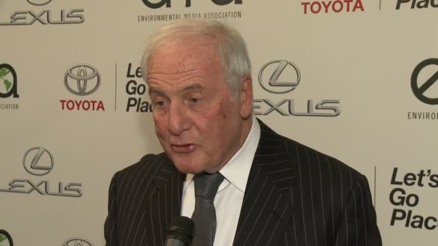 INTERVIEW Jerry Weintraub on what it means to him to be honored by the EMA Awards when he started actively caring about the environment at 2014...