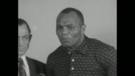 SOT Jersey Joe Walcott 'I was thoroughly disgusted and disappointed last night From the referee's reaction in that I was knocked down He did not...