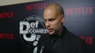 INTERVIEW Jesse Collins on how Def Comedy Jam changed and impacted comedy why people love it why he is here tonight at Netflix Presents 'Def Comedy...