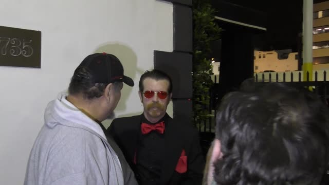 Jesse Hughes from Eagles Of Death Metal outside Eagles Of Death Metal Concert Premiere at Avalon Nightclub in Hollywood in Celebrity Sightings in Los...