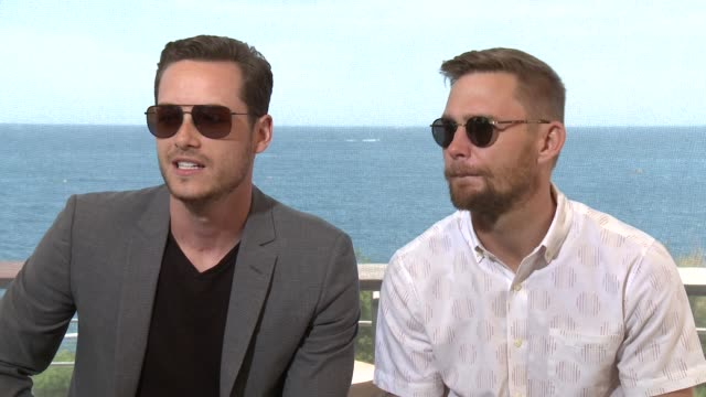 INTERVIEW Jesse Lee Soffer and Patrick Flueger at 55th Monte Carlo TV Festival Day 1 on June 15 2015 in MonteCarlo Monaco