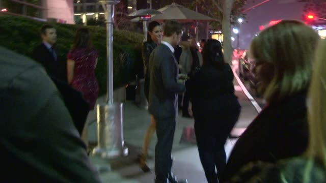 Jesse Spencer greets fans at the WME Party Celebrity Sightings in Los Angeles on in Los Angeles California