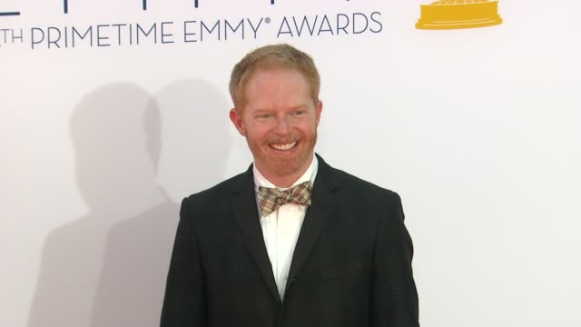 Jesse Tyler Ferguson at 64th Primetime Emmy Awards Arrivals on 9/23/12 in Los Angeles CA