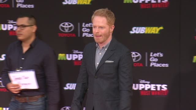 Jesse Tyler Ferguson at Disney's 'Muppets Most Wanted' Los Angeles Premiere at the El Capitan Theatre on March 11 2014 in Hollywood California