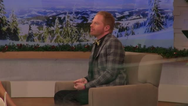 Jesse Tyler Ferguson at the 'Good Morning America' studio in New York NY on 12/7/12
