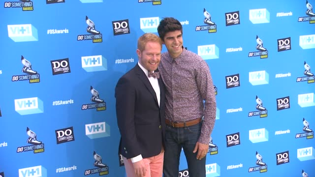 Jesse Tyler Ferguson Justin Mikita at 2013 Do Something Awards on 7/31/13 in Los Angeles CA
