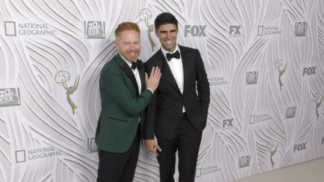 Jesse Tyler Ferguson Justin Mikita at The Fox Primetime Emmy Awards After Party on September 17 2017 in Los Angeles California