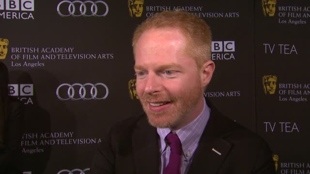 INTERVIEW Jesse Tyler Ferguson on being a part of the afternoon the last time he had high tea at BAFTA LA TV Tea 2013 Presented By BBC America And...