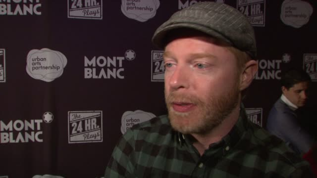 INTERVIEW Jesse Tyler Ferguson on doing the 24 musicals before jokes that this one was like a walk in the park On flying in from LA to do this Jokes...