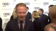 Jesse Tyler Ferguson on kicking off Golden Globe week at this party at the Audi And Martin Katz Celebrate The 2012 Golden Globe Awards in West...