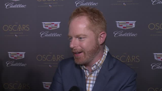 INTERVIEW – Jesse Tyler Ferguson on Oscar plans and hopeful winners at Cadillac Hosts First Ever PreOscar Event at Chateau Marmont on February 25...