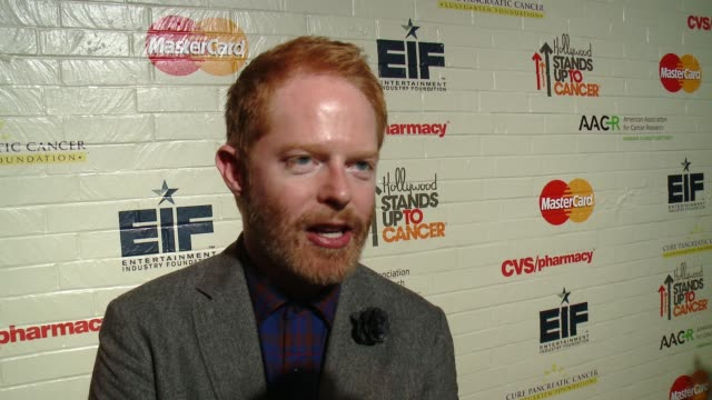 INTERVIEW Jesse Tyler Ferguson on why it was important for him to support Hollywood Stands Up To Cancer why he has chosen to get involved in the...