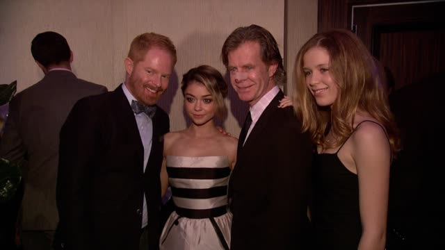 Jesse Tyler Ferguson Sarah Hyland and William H Macy at the 2nd Annual unite4humanity Presented By ALCATEL ONETOUCH on February 19 2015 in Beverly...