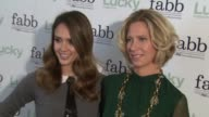 Jessica Alba Brandon Holley at Lucky Magazine Hosts First Ever West Coast FABB Fashion And Beauty Blog Conference Presented By PG Beauty Grooming on...