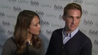 Jessica Alba Christopher Gavigan on how she feels to be participating in the first West Coast Lucky fabb event why they decided to create The Honest...