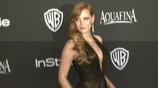 Jessica Chastain at 16th Annual InStyle And Warner Bros Golden Globe AfterParty on January 11 2015 in Beverly Hills California