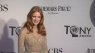 Jessica Chastain at 66th Annual Tony Awards Red Carpet at The Beacon Theatre on June 10 2012 in New York New York
