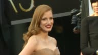Jessica Chastain at 85th Annual Academy Awards Arrivals in Hollywood CA on 2/24/13