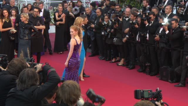 Jessica Chastain at 'All Is Lost' Red Carpet 5/22/2013 in Cannes France