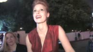 Jessica Chastain at Chateau Marmont in West Hollywood 01/30/11 at the Celebrity Sightings in Los Angeles at Los Angeles CA