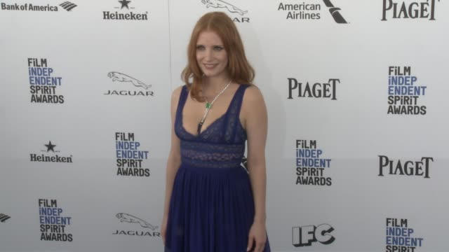 Jessica Chastain at the 2016 Film Independent Spirit Awards Arrivals on February 27 2016 in Santa Monica California