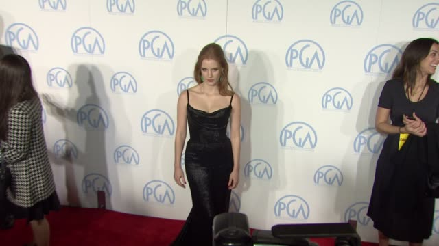Jessica Chastain at the 23rd Annual Producers Guild Awards on 1/21/12 in Beverly Hills CA
