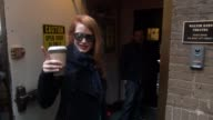 Jessica Chastain at the Walter Kerr Theatre in New York NY on 1/16/13