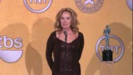 Jessica Lange on the event and on her SAG Award win for Female Actor in a Drama Series at 18th Annual Screen Actors Guild Awards Press Room on...