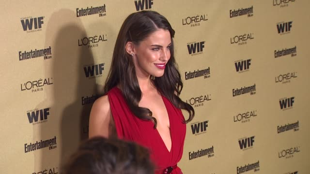 Jessica Lowndes at the Entertainment Weekly And Women In Film PreEmmy Party at West Hollywood CA