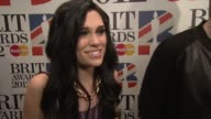 Jessie J on her nominations which one would mean more to her touring raising awareness for charity what to expect from 2012 at The BRIT Awards 2012...