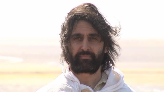 Jesús/Biblical uomo primo piano-HD & PAL