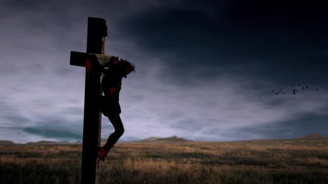 Crocifissione di Gesù Video Loop