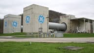 Jet engines for commercial aviation are tested at the GE Aviation Test Operations facility in Peebles Ohio US on Tuesday April 14 2015 Shots Exterior...