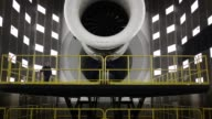 Jet engines for commercial aviation are tested at the GE Aviation Test Operations facility in Peebles Ohio US on Tuesday April 14 2015 Shots An...