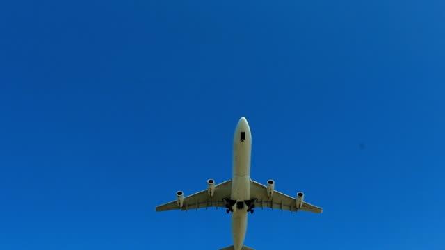 Jet plane taking off