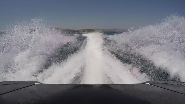 Jetski rear wake  POV