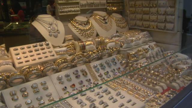 Cu td jewelry window display in store new york new york for Jewelry stores in new york ny