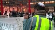 WGN Jewish Group Protests Trump Adviser Steve Bannon in Chicago on Nov 22 2016