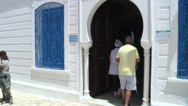 Jewish pilgrims gathered Friday for the annual pilgrimage to Ghriba synagogue the oldest synagogue in Africa on the Tunisian island of Djerba