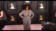 Jill Scott at the 59th Annual Grammy Awards Arrivals at Staples Center on February 12 2017 in Los Angeles California 4K